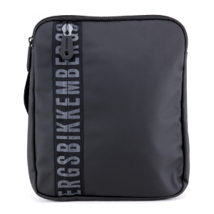 Shoulder bag Bikkembergs GUM GUM-03 999 NERO