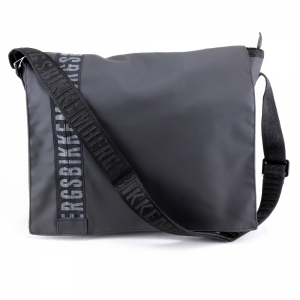 Shoulder bag Bikkembergs GUM GUM-05 999 NERO