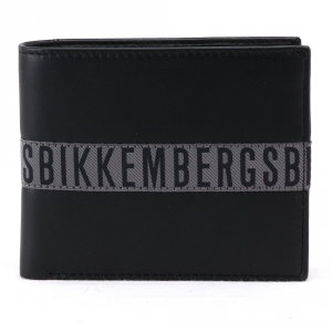 Portefeuille pour homme Bikkembergs TAPE TAPE-305 999 NERO
