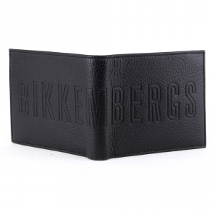 Portafogli uomo Bikkembergs STRIPES STRIP-305 999 NERO