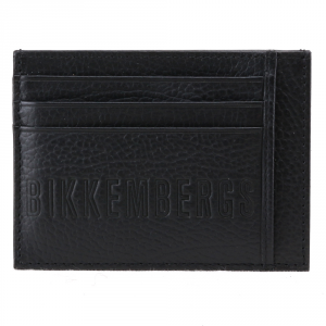 Porta carte Bikkembergs STRIPES STRIP-309 999 NERO
