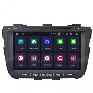 ANDROID 10 autoradio 2 DIN navigatore per Kia Sorento 2013-2014 GPS DVD WI-FI Bluetooth MirrorLink