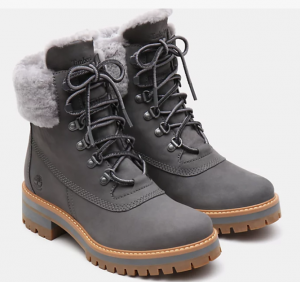 Scarponcino donna TIMBERLAND IN SHEARLING COURMAYEUR VALLEY 6 INCH