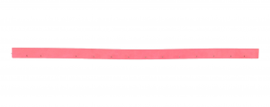 TT 6650 G (squeegee L=850 mm) Gomma Tergipavimento POSTERIORE per lavapavimenti NUMATIC (Fino al 2012)
