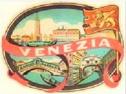 ADESIVO VENEZIA PIAGGIO VESPA INNOCENTI LAMBRETTA ANNI '60 189110511