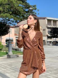 Mini abito Paillettes Vicolo