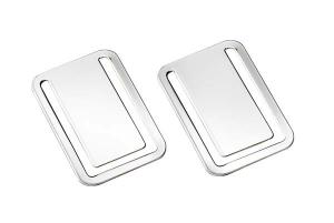 Segnalibro argentato argento silver plated 2pz