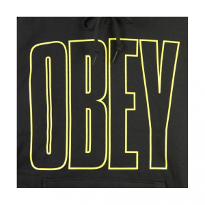 Felpa Obey Worldwide Line Box
