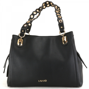 HAnd and shoulder bag Liu Jo BRILLANTE N69042 E0033 NERO