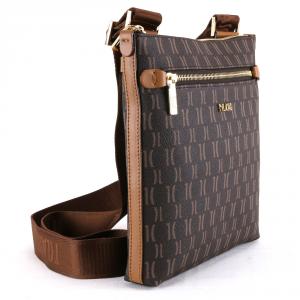 Shoulder bag Alviero Martini 1A Classe Monogram B014 9614 500 Dark Brown