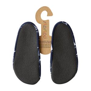 Slipstop - super scarpina antiscivolo per bambini - Yacht Blu