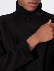 Cappottino donna ARMANI EXCHANGE con manicotti di pelo