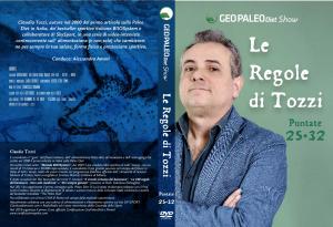 Le Regole di Tozzi - GeoPaleoDiet Show. DVD Video doppio - Puntate 25-32
