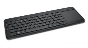 Microsoft All-in-One Media Keyboard RF Wireless Inglese Nero