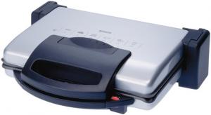 Bosch TFB3302V 1800W Alluminio, Grigio barbecue e bistecchiera