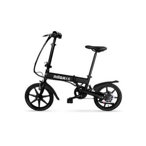 Nilox DOC E-BIKE X2 Nero Acciaio  ruote 16