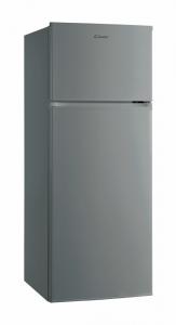 Candy CMDDS 5142X Libera installazione 204L A+ Acciaio inossidabile frigorifero con congelatore