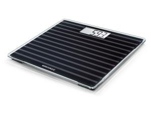 Soehnle Style Sense Compact 200 Black Edition Bilancia pesapersone elettronica Quadrato Nero, Grigio, Trasparente