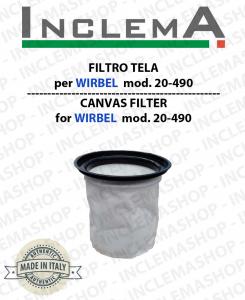 FILTRO TELA COD 20-490 per ASPIRAPOLVERE WIRBEL