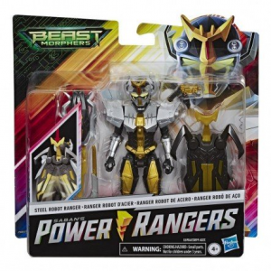 Hasbro Power Rangers- Beast Morphers da 15 cm, Multicolore