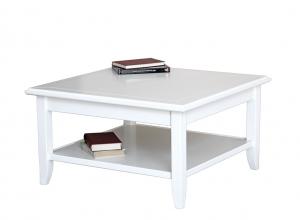 Tavolino in legno quadrato