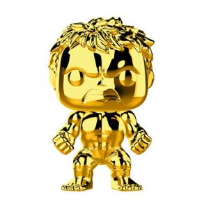 FUNKO POP! Marvel Studios: The First Ten Years Gold Chrome HULK