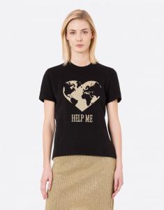 T-shirt Help Me nera