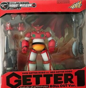 Getter 1 roll out ver. by Kaiyodo Xebec