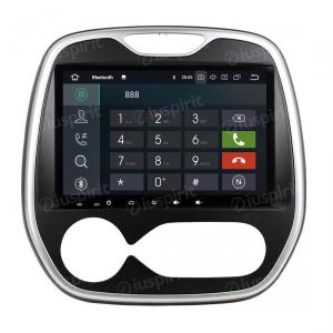 ANDROID 10 autoradio navigatore per Renault Captur, Renault Clio, Samsung QM3 AUTOMATICO UN/C 2011-2016 GPS WI-FI Bluetooth MirrorLink