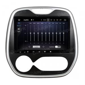 ANDROID 9.0 autoradio navigatore per Renault Captur, Renault Clio, Samsung QM3 MANUAL UN/C 2011-2016 GPS WI-FI Bluetooth MirrorLink