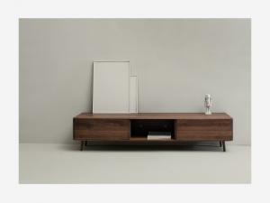 Base porta Tv in legno Malin