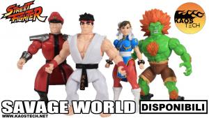 Savage World Street Fighter: WAVE 1