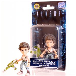 The Loyal Subject: Aliens (Lt. Ellen Ripley) Metallic & Chrome Weapon LIMITED