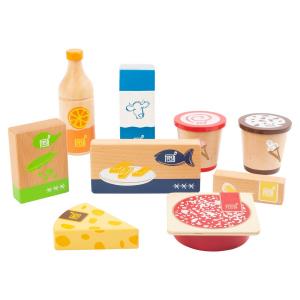 Set prodotti surgelati e da frigorifero