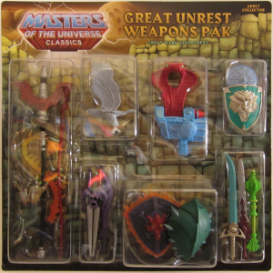 Masters of the Universe Classics: Weapons Pak #3 (Great Unrest Assortment)