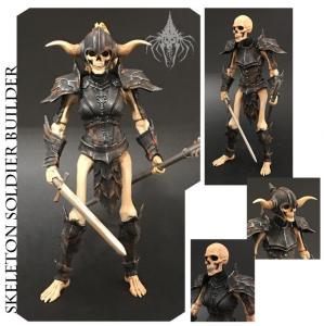 Mythic Legions: Skeleton Soldier Builder