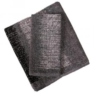 Asciugamano e ospite set 1+1 in spugna Carrara DAKOTA grigio