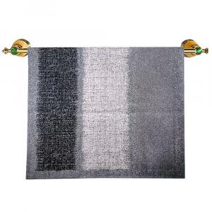 Telo da bagno in spugna di cotone 95x150 cm Carrara DAKOTA grigio