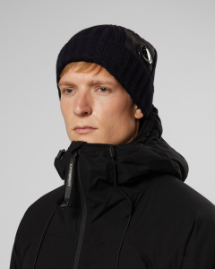 SHOPPING ON LINE CP COMPANY BERRETTO EXTRA FINE MERINO WOOL LENS BEANIE NEW COLLECTION FALL/WINTER 2019/20