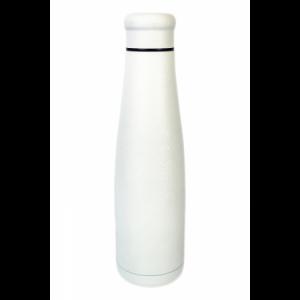 Bottiglia in Acciaio Colore White Ice