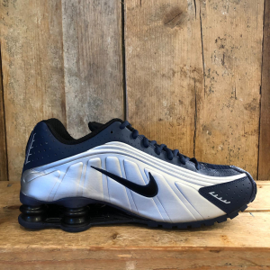 Scarpa Nike Shox R4 Blu/Argento
