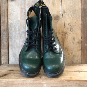 Anfibio Dr. Martens 1460 Milled Smooth Verde