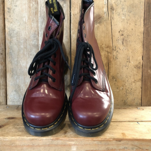 Anfibio Dr. Martens 1460 Cherry Red Bordeaux