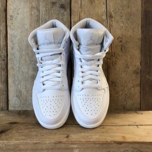 Scarpa Nike Air Jordan 1 Mid Bianca