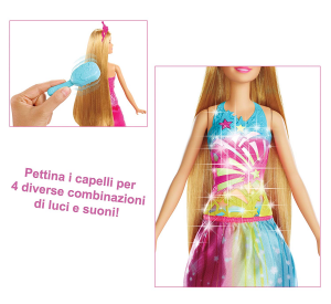 Barbie Dreamtopia pettina e brilla
