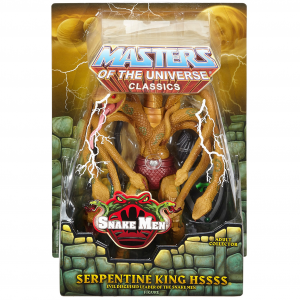 Masters of the Universe Classics: Serpentine King Hssss