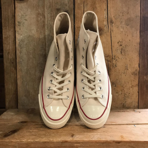 Scarpa Converse Chuck 70 in Canvas Panna