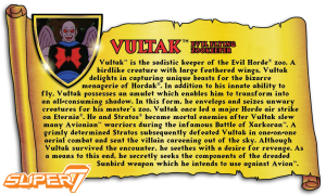 Masters of the Universe Classics: VULTAK