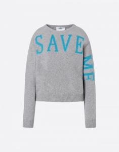 Maglione Save Me grigio
