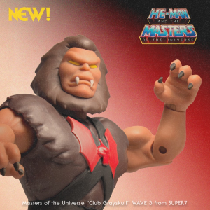 Masters of the Universe Classics Club Grayskull: GRIZZLOR